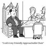 Friendly Approachable Chair